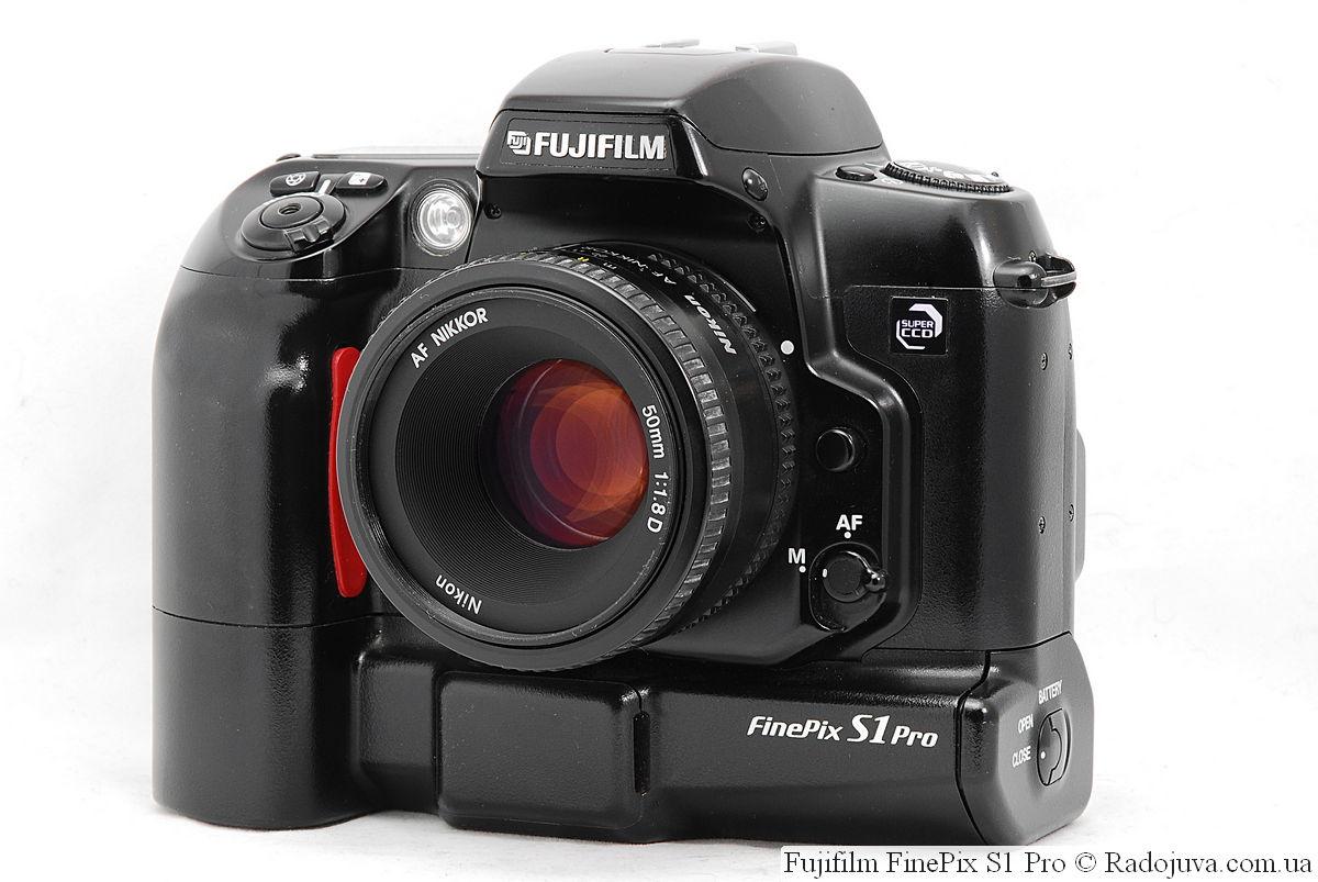 Fujifilm FinePix S1 Pro с объективом Nikon 50mm 1:1.8D AF Nikkor (MKIII)