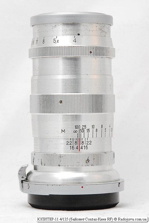 ЮПИТЕР-11 4/135 с байонетом Contax-Киев RF