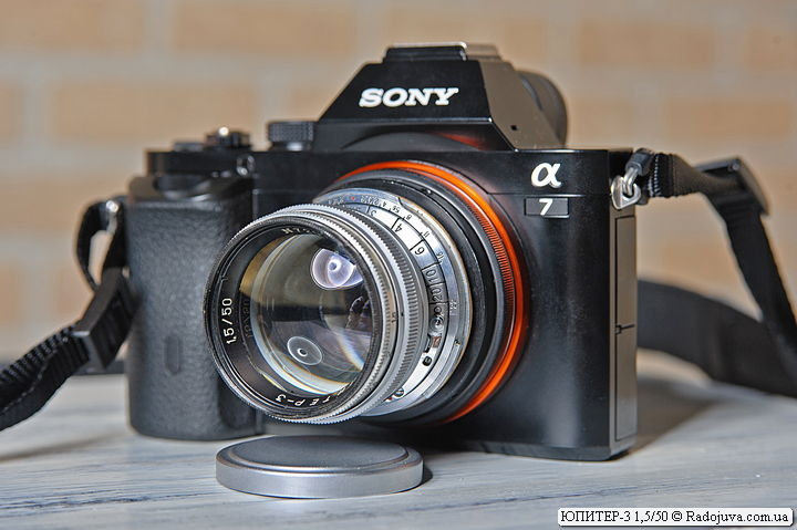 Юпитер-3 на камере Sony a7