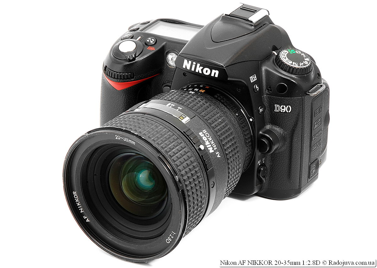 Nikon AF NIKKOR 20-35mm 1:2.8D