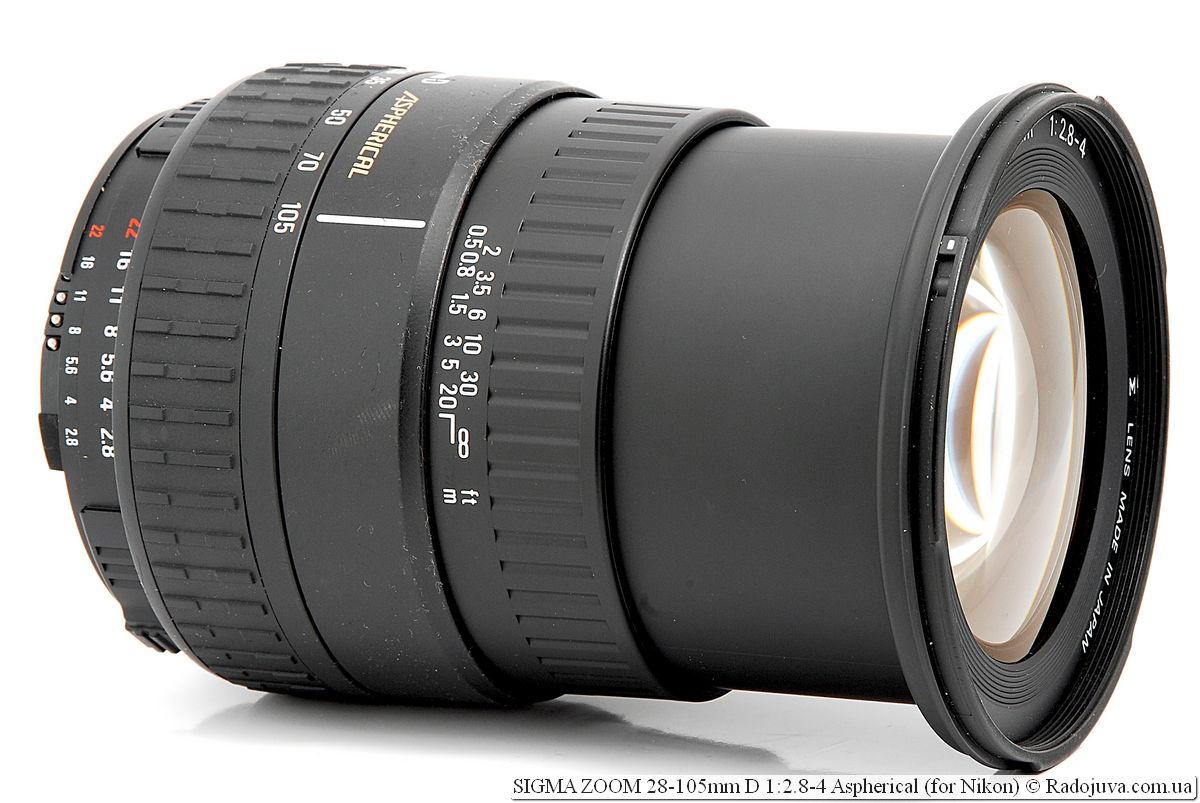 SIGMA ZOOM 28-105mm D 1:2.8-4 Aspherical
