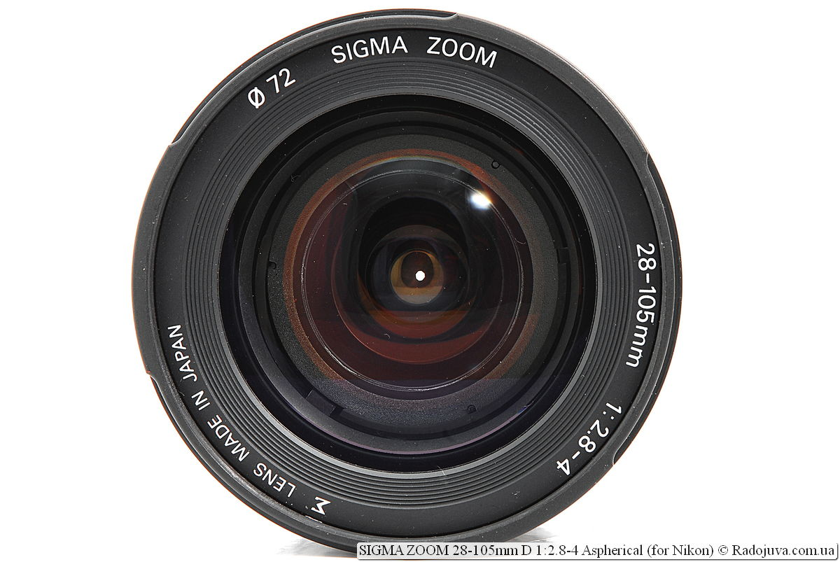 SIGMA ZOOM 28-105mm D 1:2.8-4 Aspherical