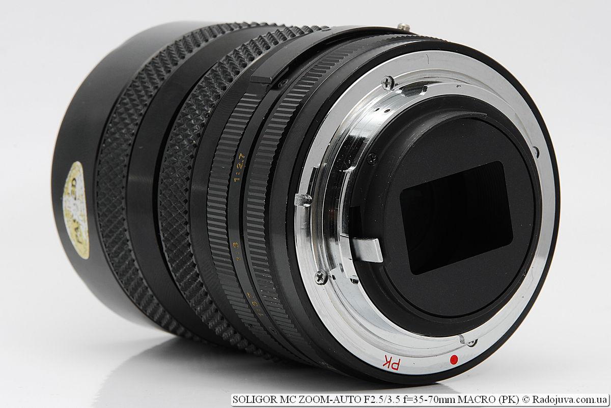 SOLIGOR MC ZOOM-AUTO F2.5/3.5 f=35-70mm