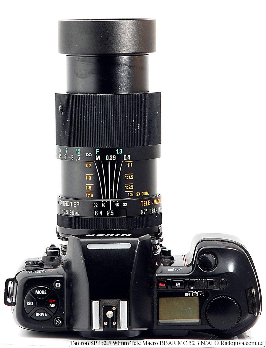 Tamron SP 1:2.5 90mm Tele Macro BBAR MC 52B N/AI