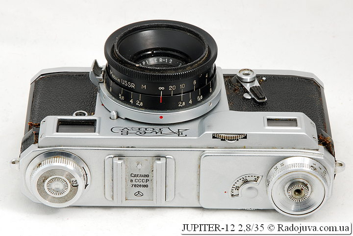Юпитер-12 на камере Киев-4