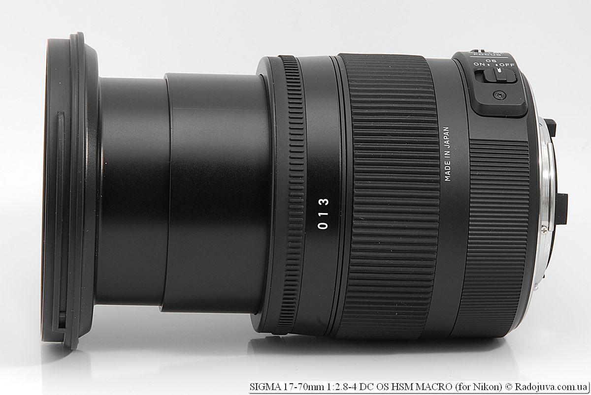 SIGMA C 17-70mm 1:2.8-4 DC OS HSM MACRO