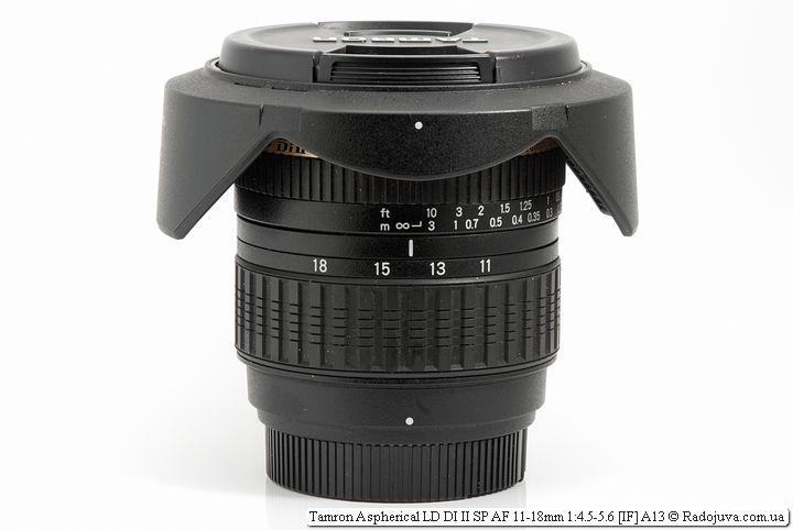Tamron Aspherical LD DI II SP AF 11-18mm 1:4.5-5.6 [IF] A13