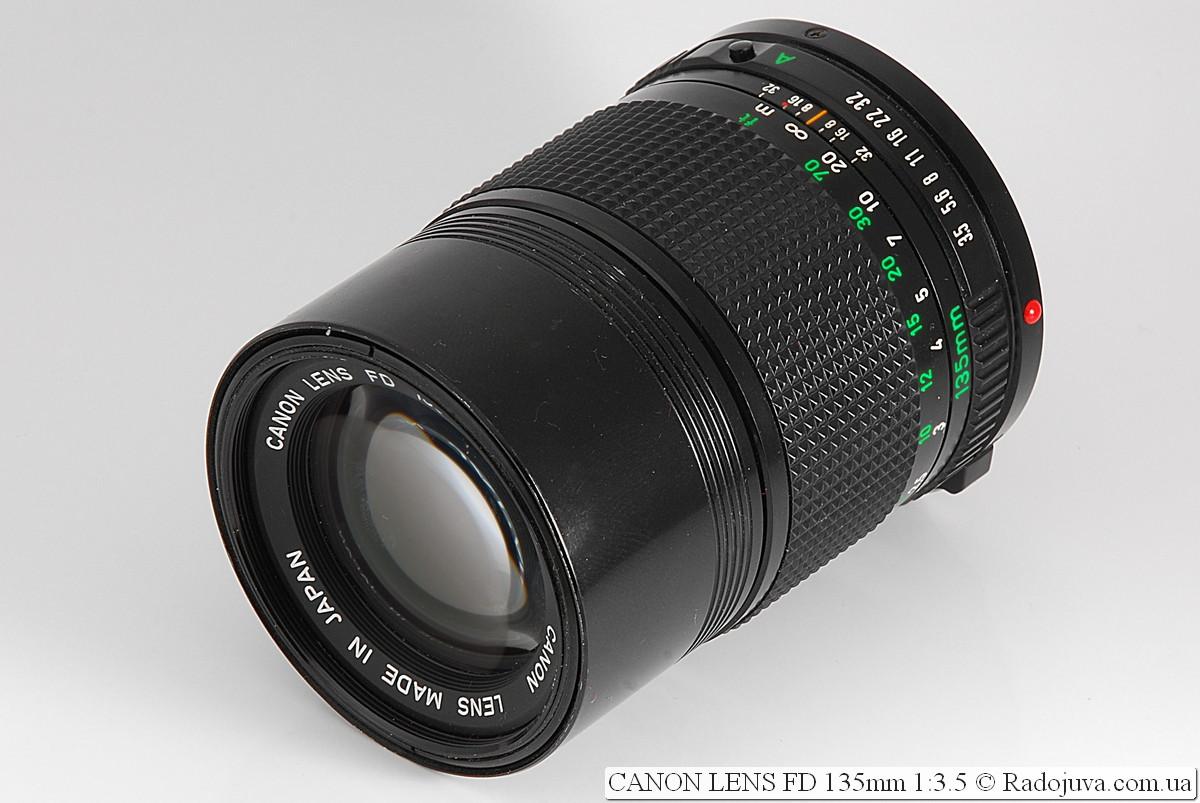 Canon Lens FD 135mm 1:3.5