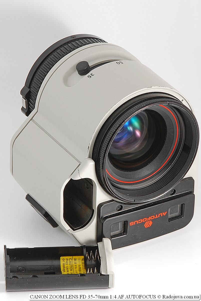 Canon Zoom Lens FD 35-70mm 1:4 AF Autofocus