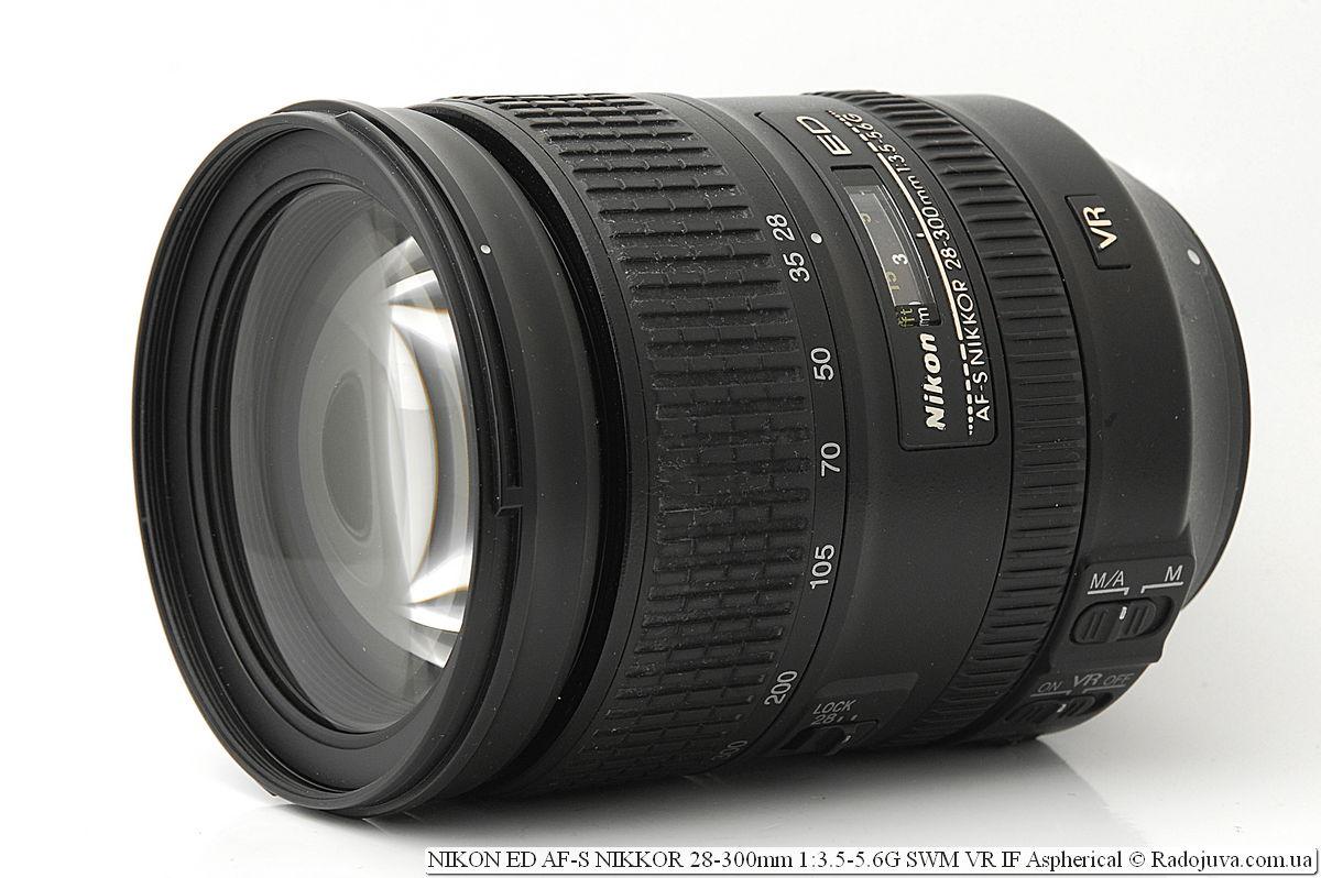 Nikon ED AF-S NIKKOR 28-300mm 1:3.5-5.6G SWM VR IF Aspherical