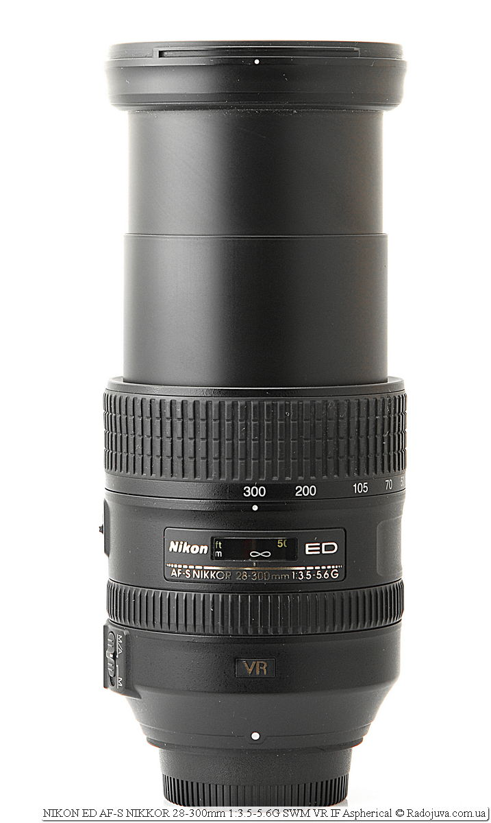 Nikon ED AF-S NIKKOR 28-300mm 1:3.5-5.6G SWM VR IF Aspherical