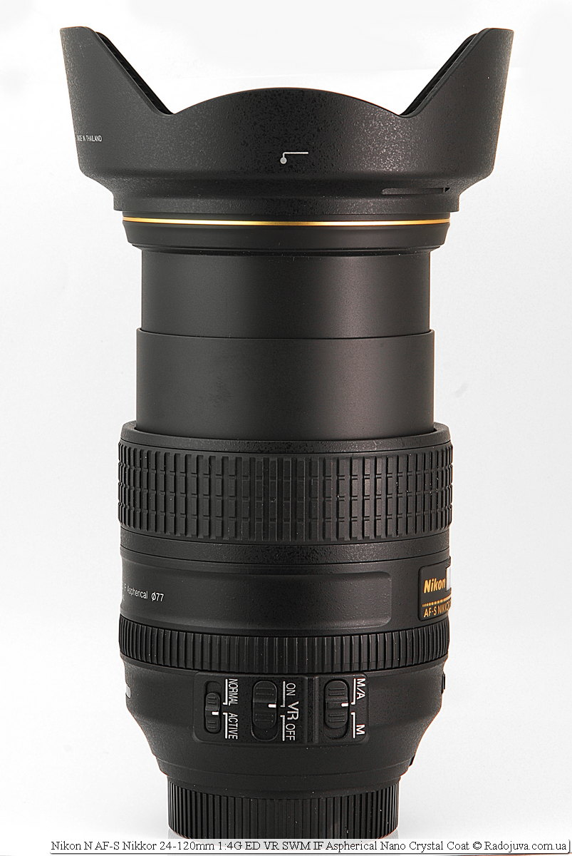 Nikon N AF-S Nikkor 24-120mm 1:4G ED VR SWM IF Aspherical Nano Crystal Coat