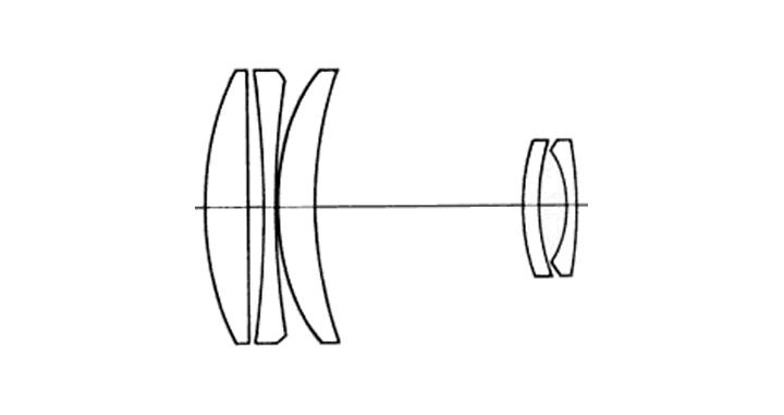 smc-pentax-m-3-5-135-mm-asahi-opt-co-japan-optical-scheme