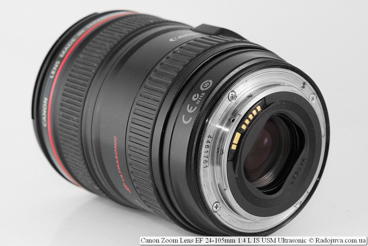 Canon Zoom Lens EF 24-105mm 1:4 L IS USM Ultrasonic