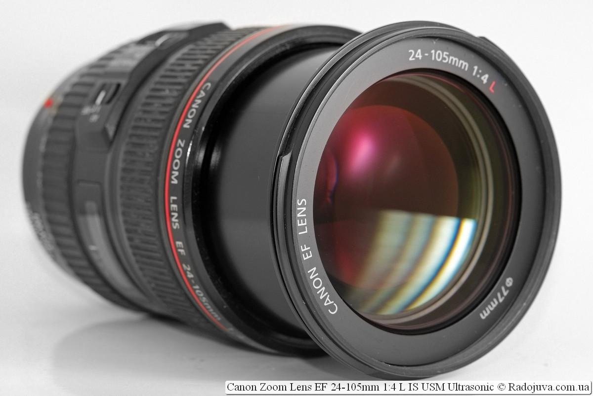 Canon Zoom Lens EF 24-105mm 1:4 L IS USM Ultrasonic