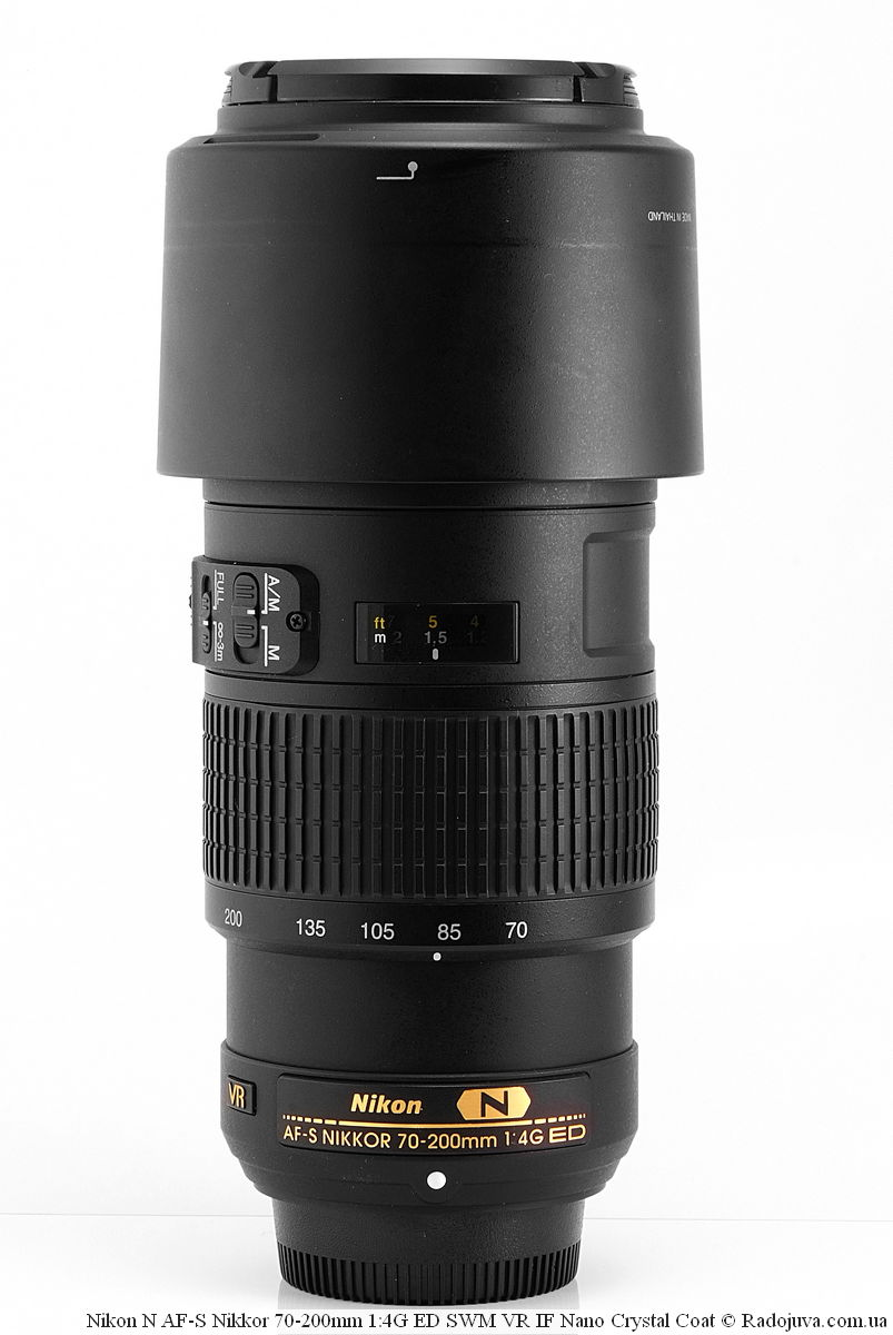Nikon N AF-S Nikkor 70-200mm 1:4G ED SWM VR IF Nano Crystal Coat