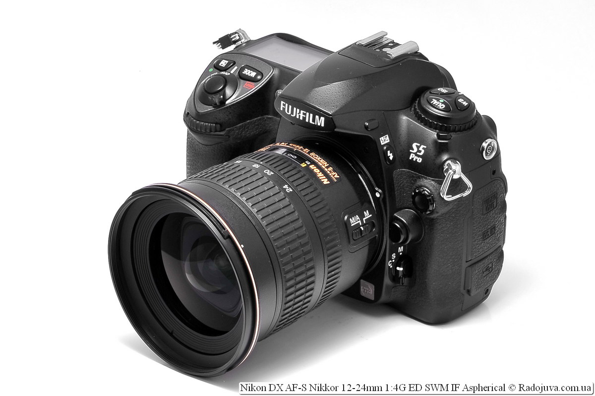 Nikon DX AF-S Nikkor 12-24mm 1:4G ED SWM IF Aspherical на легендарной камере Fujifilm FinePix S5 Pro