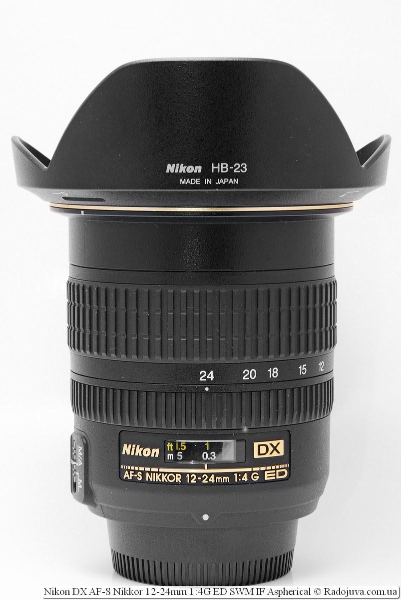 Nikon 12-24mm f/4 DX AF-S