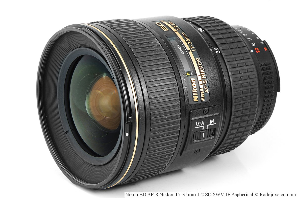 Nikon ED AF-S Nikkor 17-35mm 1:2.8D SWM IF Aspherical