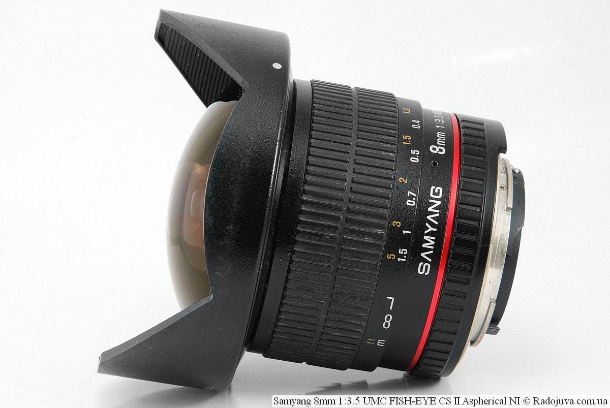 Samyang 8mm 1:3.5 UMC FISH-EYE CS II Aspherical NI