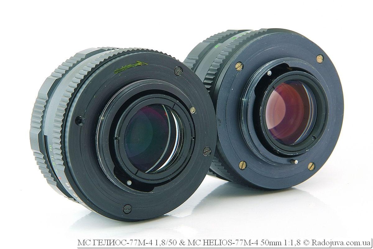 МС ГЕЛИОС-77М-4 1,8/50 и MC HELIOS-77M-4 50mm 1:1,8