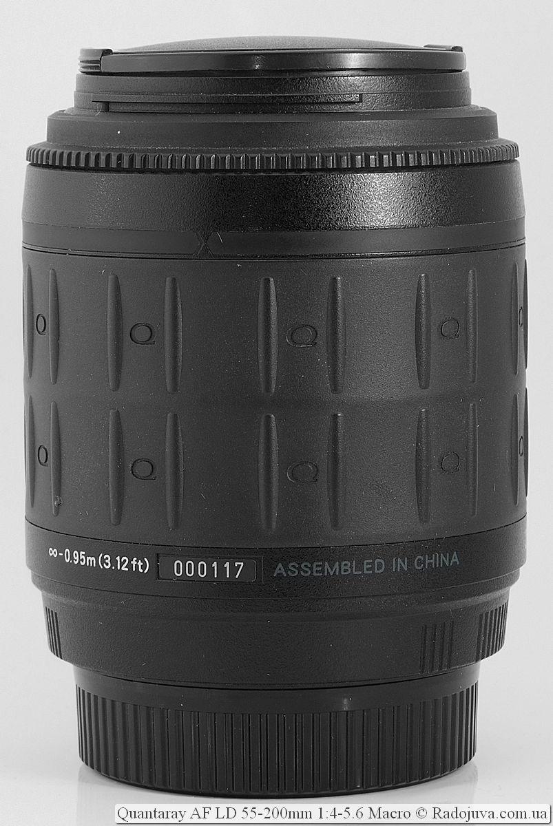 Quantaray 55-200 mm F4-5.6 Macro AF LD