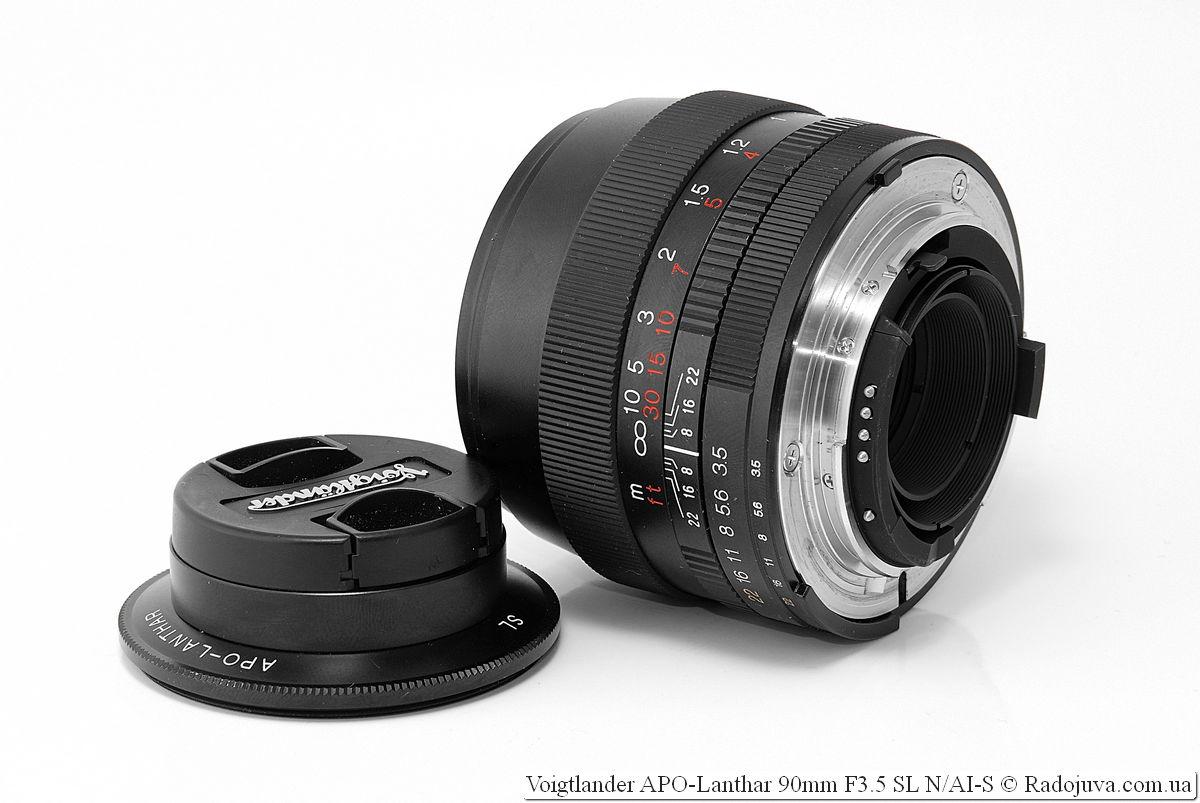 Voigtlander APO-Lanthar 90mm F3.5 SL N/AI-S