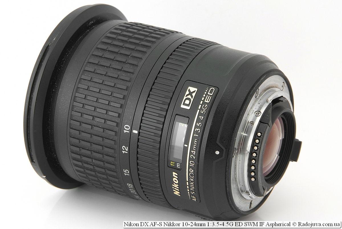 Nikon AF-S 10-24 mm f/3.5-4.5G DX