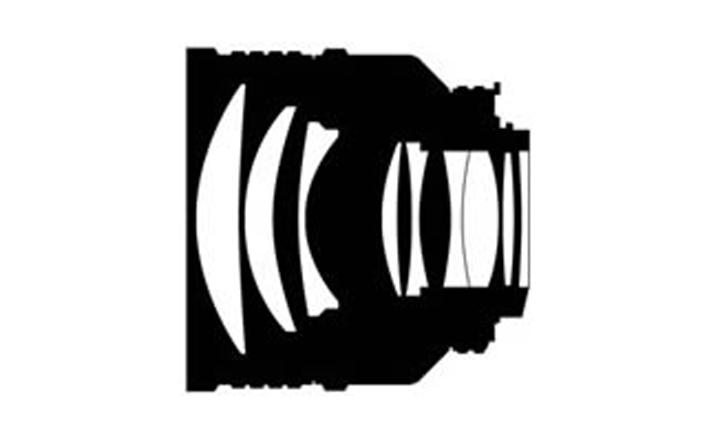 Оптическая схема Nikon AF Nikkor 85mm 1:1.4D