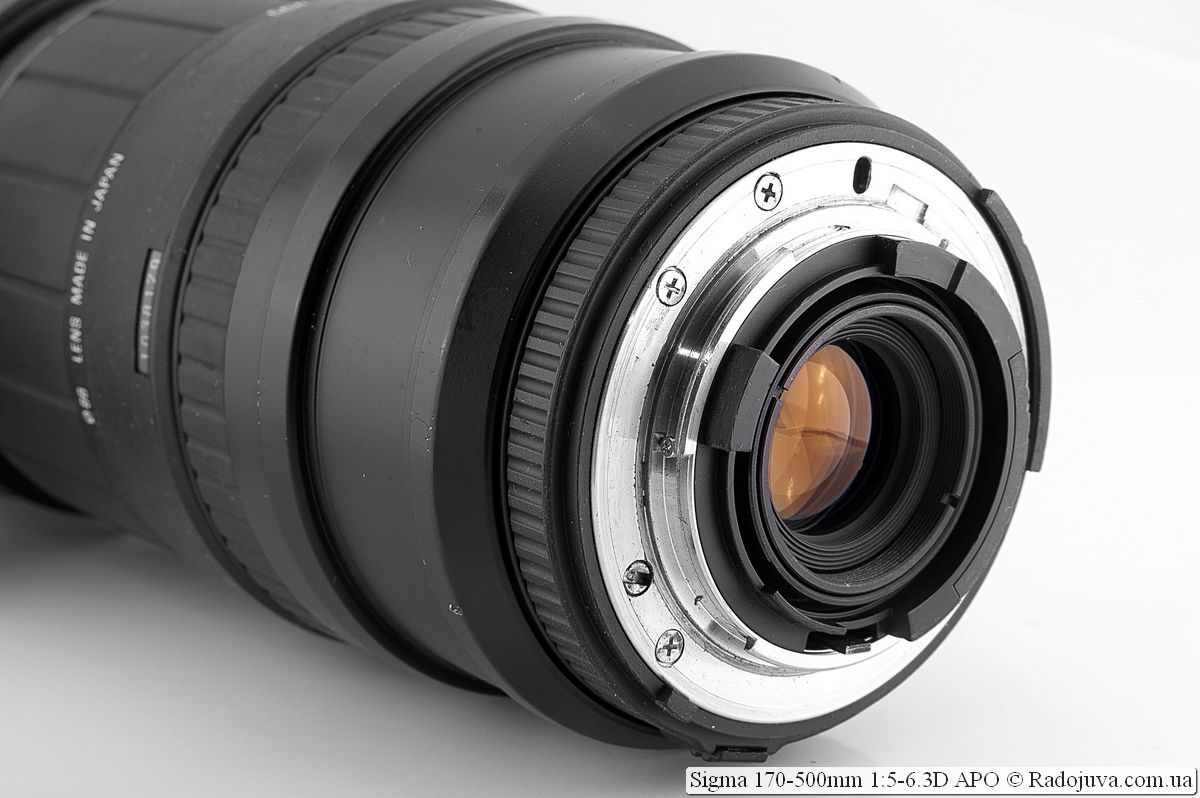 Sigma 170-500mm F/5-6.3 D APO