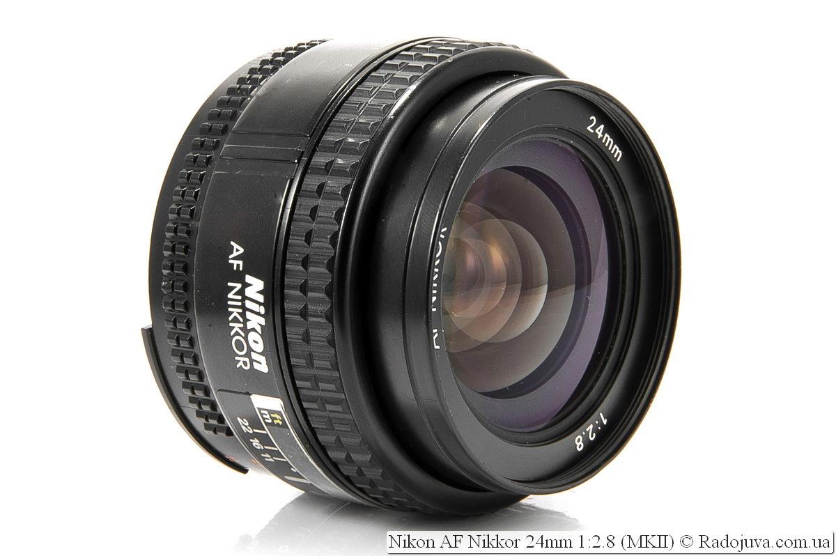 Nikon 24mm f/2.8 AF (версия MKII)
