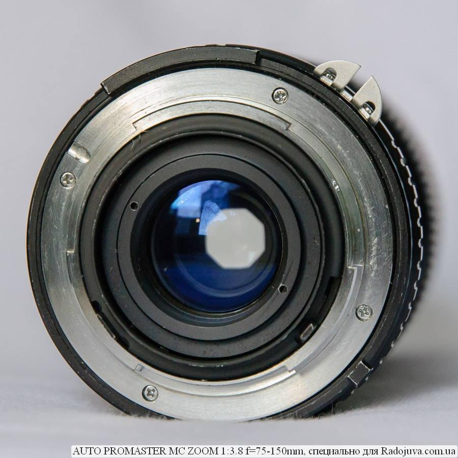 AUTO PROMASTER MC ZOOM 1:3.8 f=75-150mm