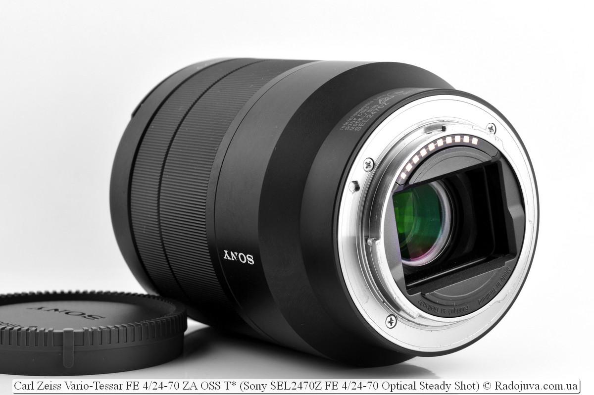 Carl Zeiss Vario-Tessar FE 4 / 24-70 ZA OSS T * (Sony SEL2470Z FE 4 / 24-70 Optical Steady Shot)