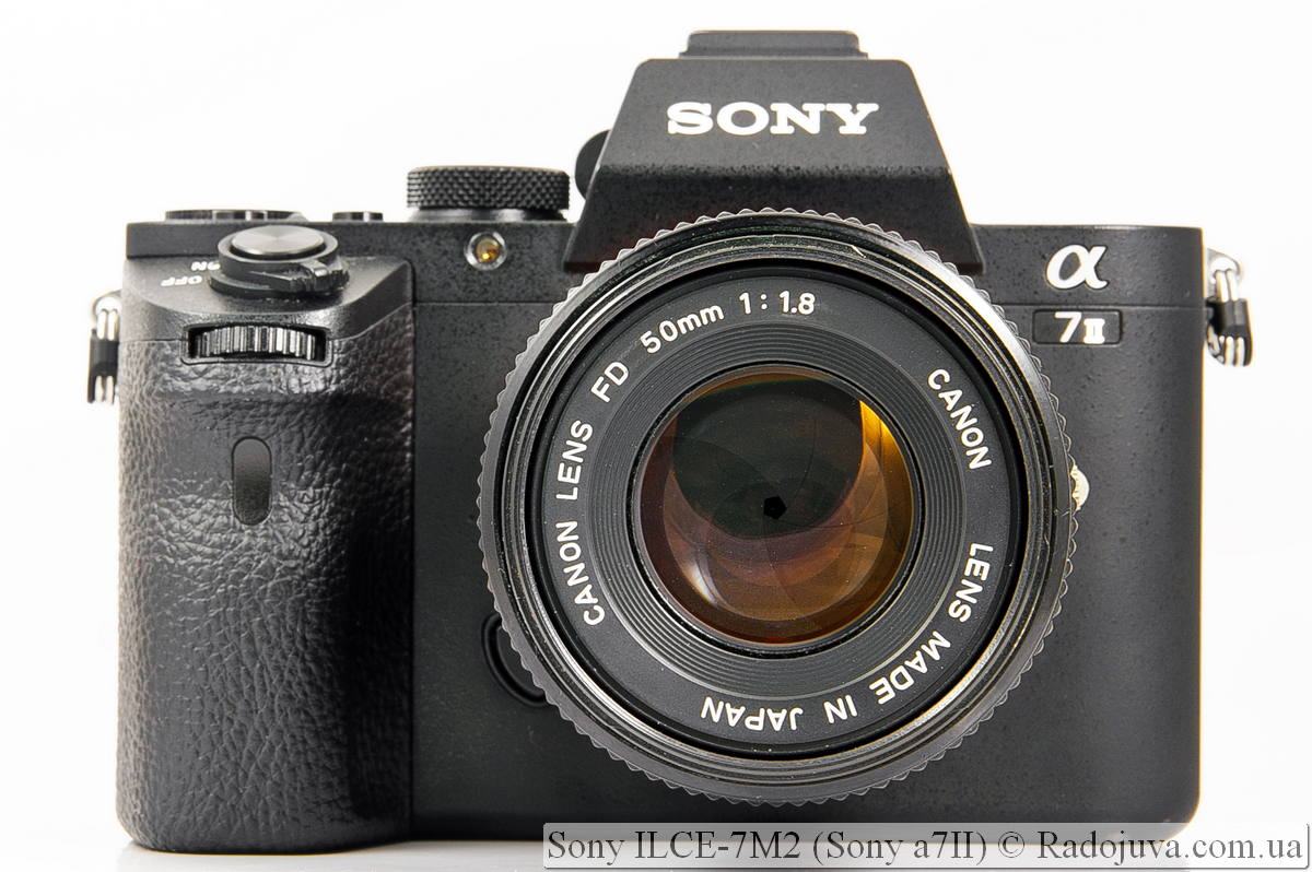 Sony ILCE-7M2 (Sony a7II)