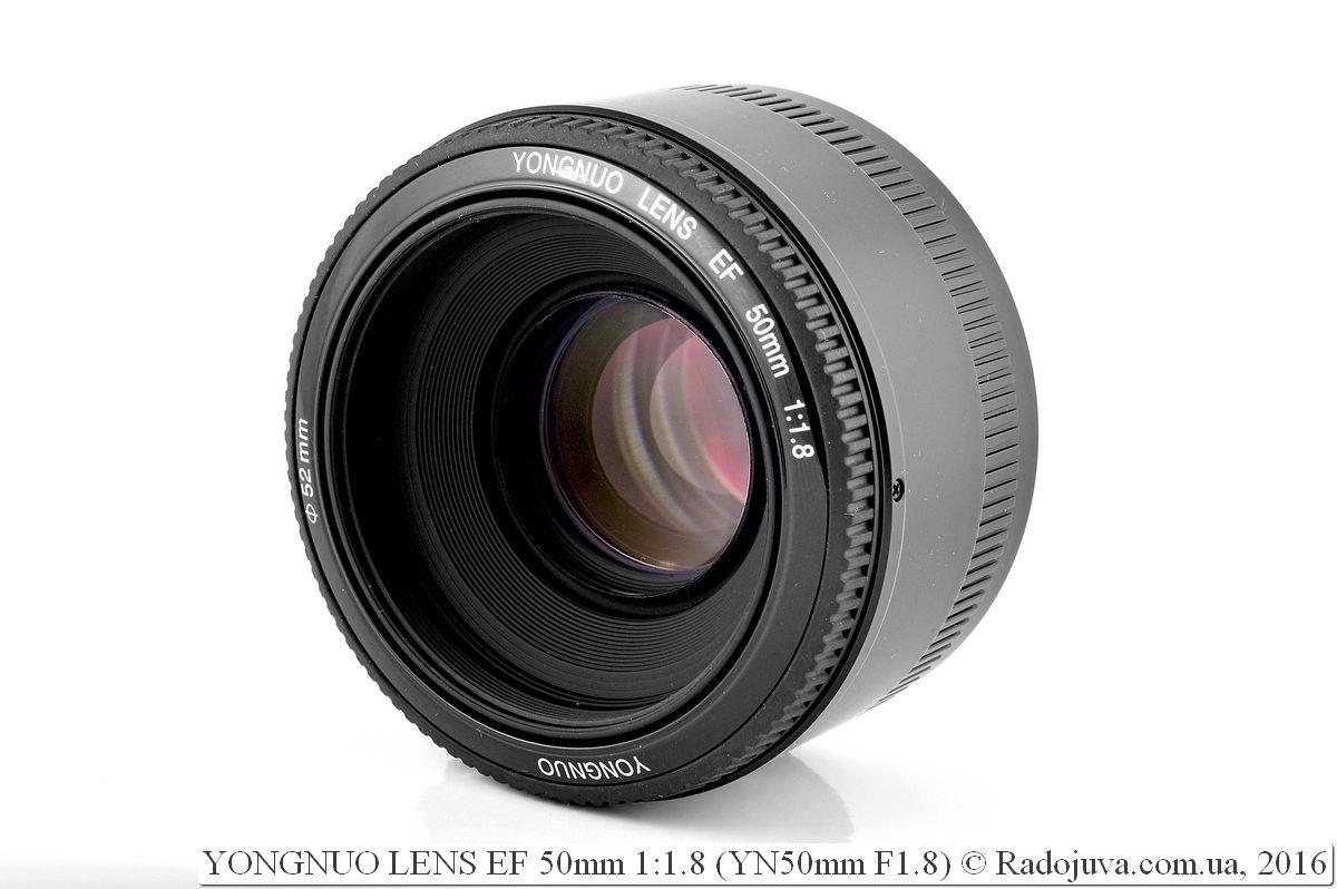 YONGNUO LENS EF 50mm 1:1.8