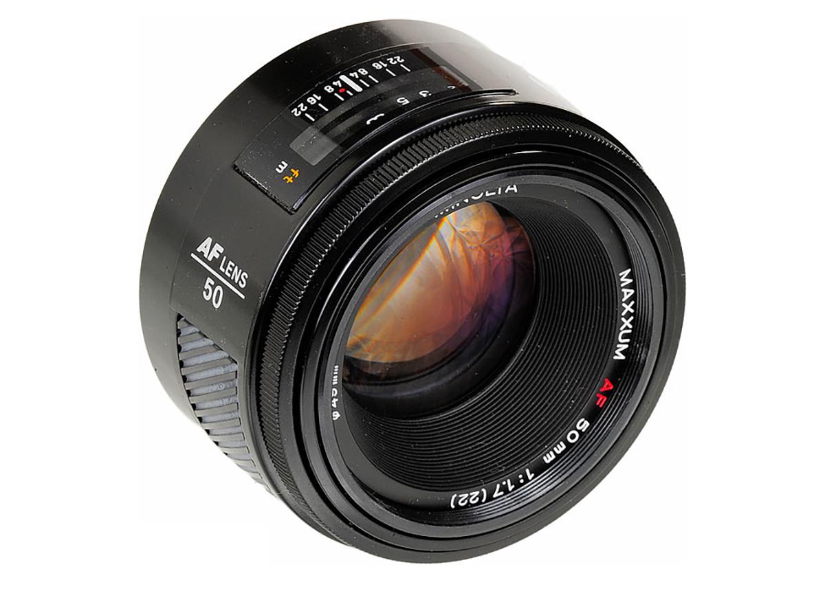Minolta AF 50mm f/1.7