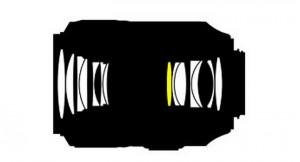 Оптическая схема Nikon 105mm f/2.8 VR Micro