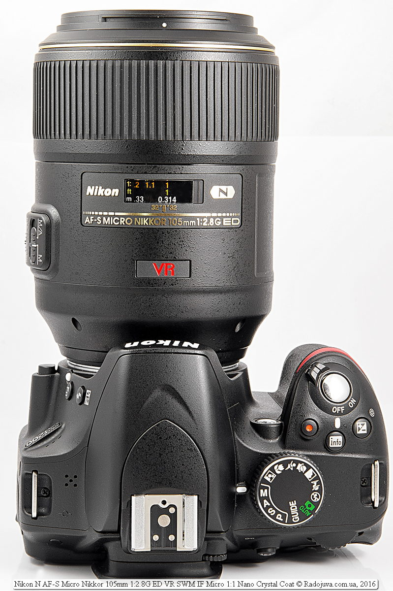 Nikon 105mm f/2.8 VR Micro на фотоаппарате Nikon D3200