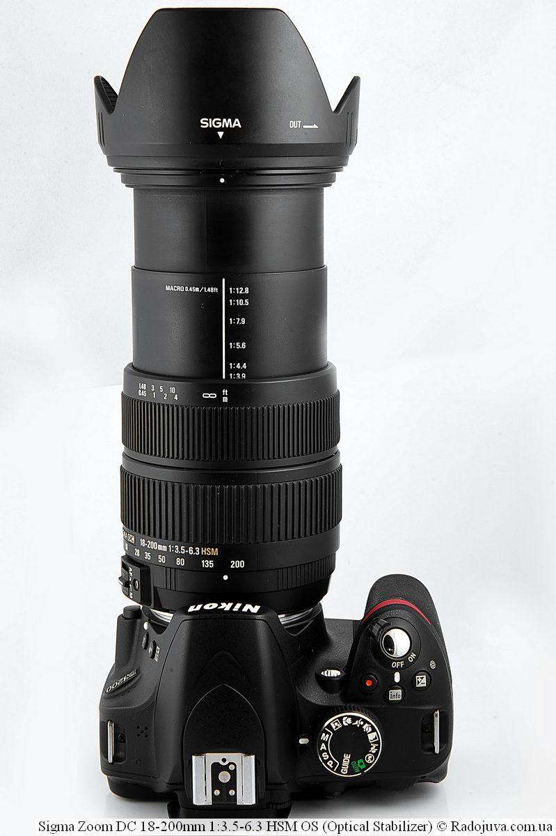 Sigma 18-200mm f/3.5-6.3 на фотоаппарате Nikon D3200