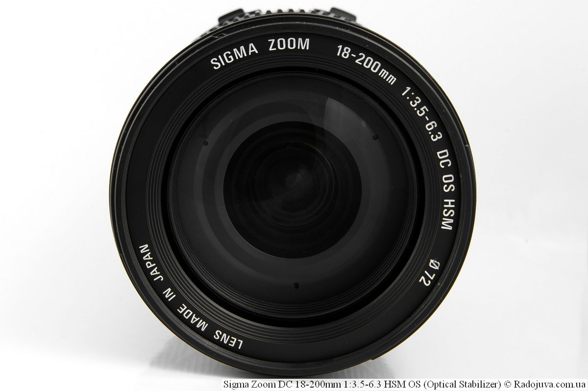 Sigma 18-200mm f/3.5-6.3