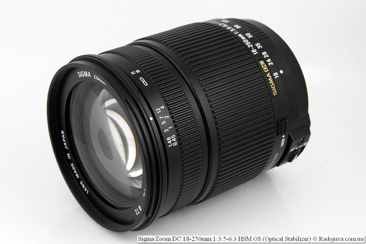 Sigma Zoom DC 18-250mm 1:3.5-6.3 HSM OS