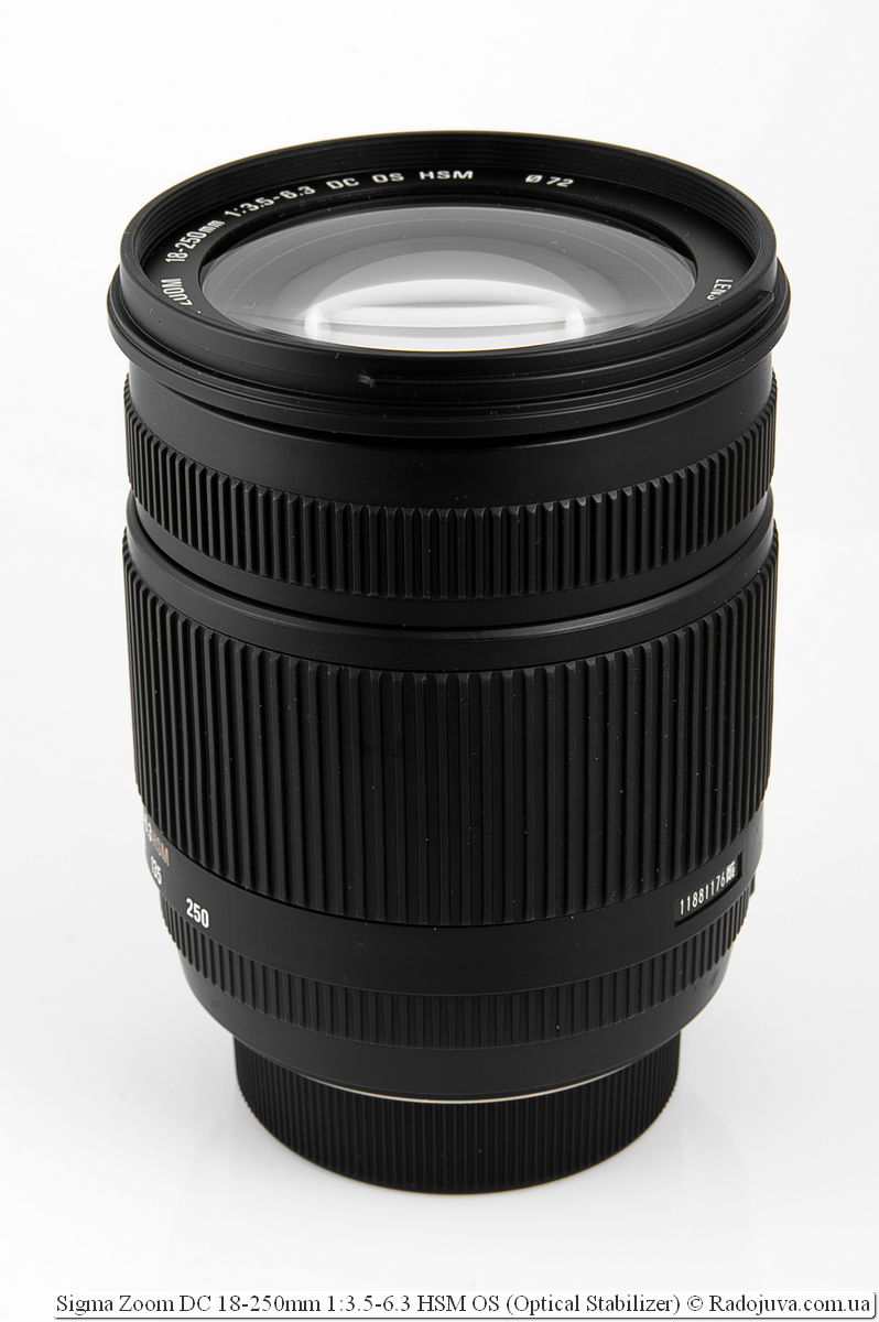 Sigma Zoom DC 18-250mm 1:3.5-6.3 HSM OS