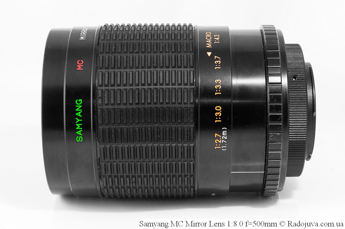 Samyang 500mm f/8.0 Mirror