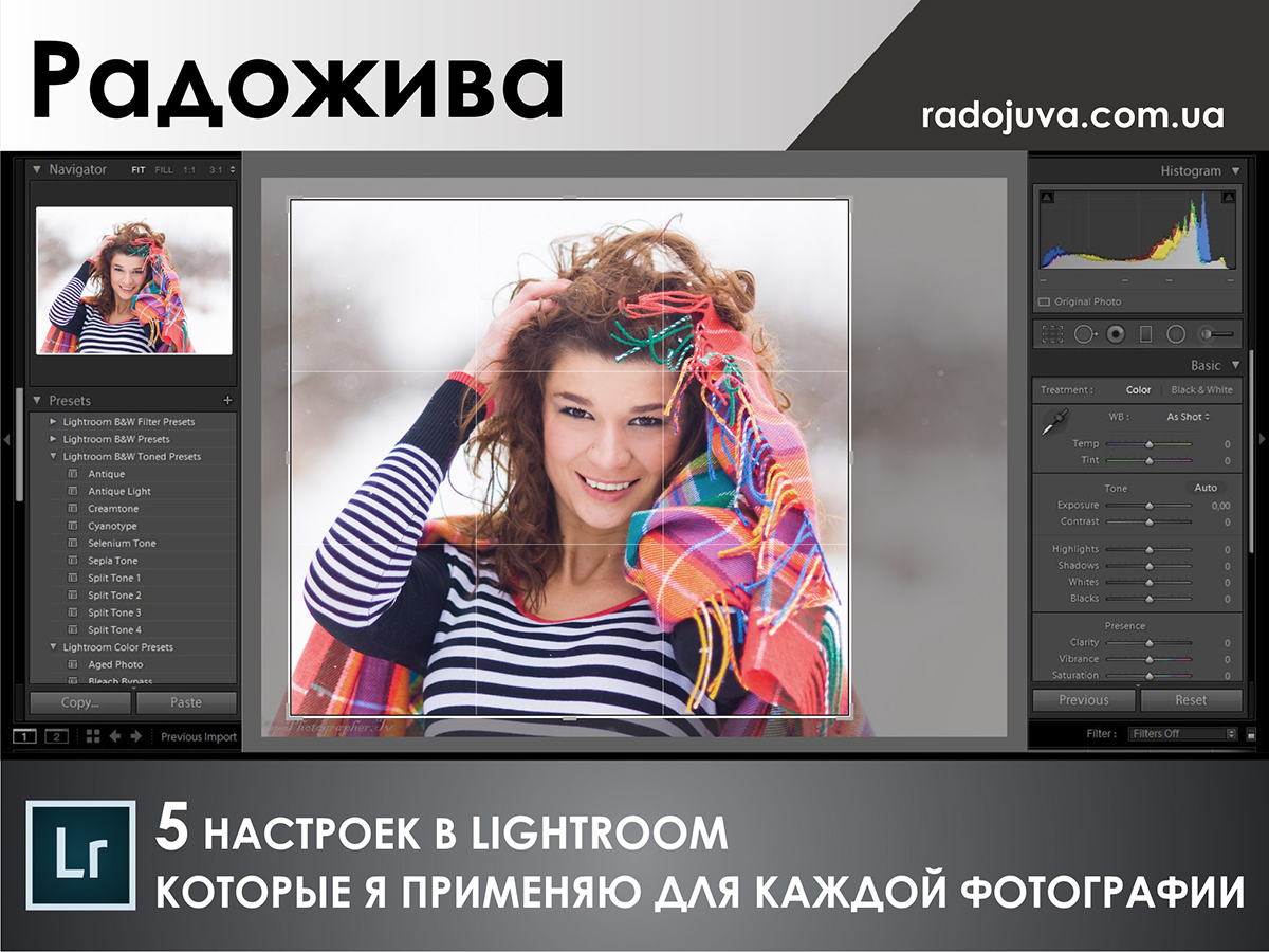 5 steps to lightroom
