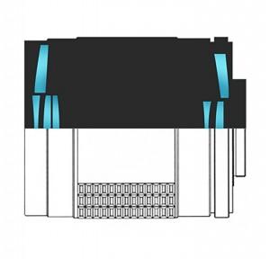 Оптическая схема Samyang 500mm F8