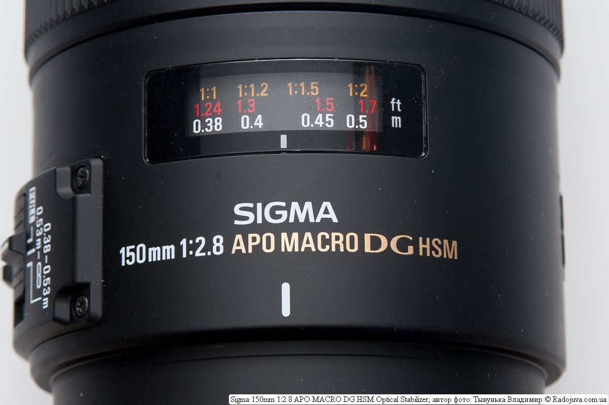 SIGMA AF 150 mm f/2.8 EX DG APO HSM Macro