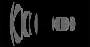 Оптическая схема Tokina 20-35