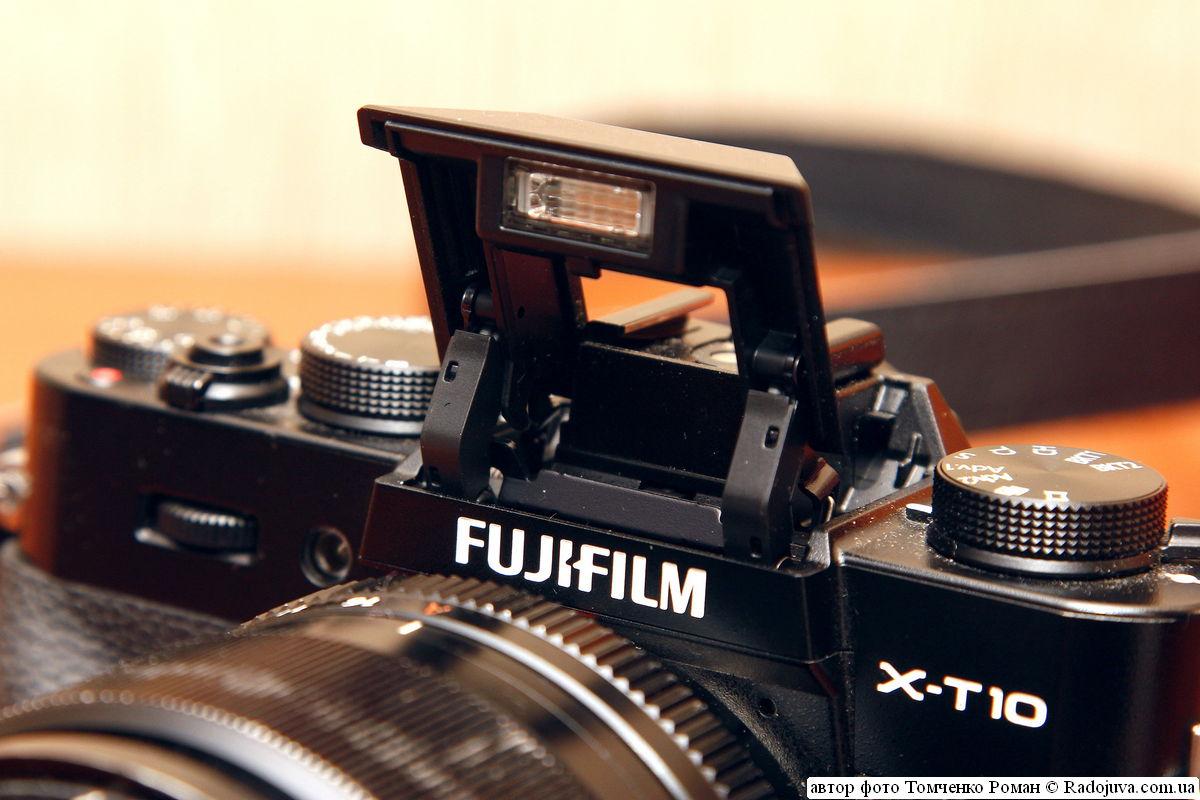 вспышка Fujifilm Finepix X-T10