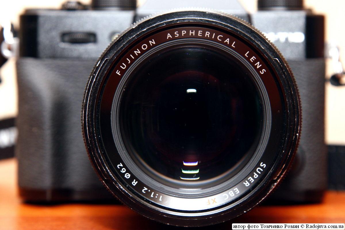 объектив Fujinon XF 56mm f/1.2 R