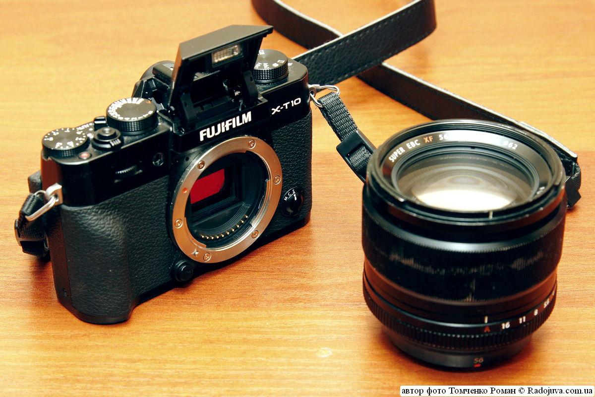 Fujifilm Finepix X-T10 + Fujinon XF 56mm f/1.2 R